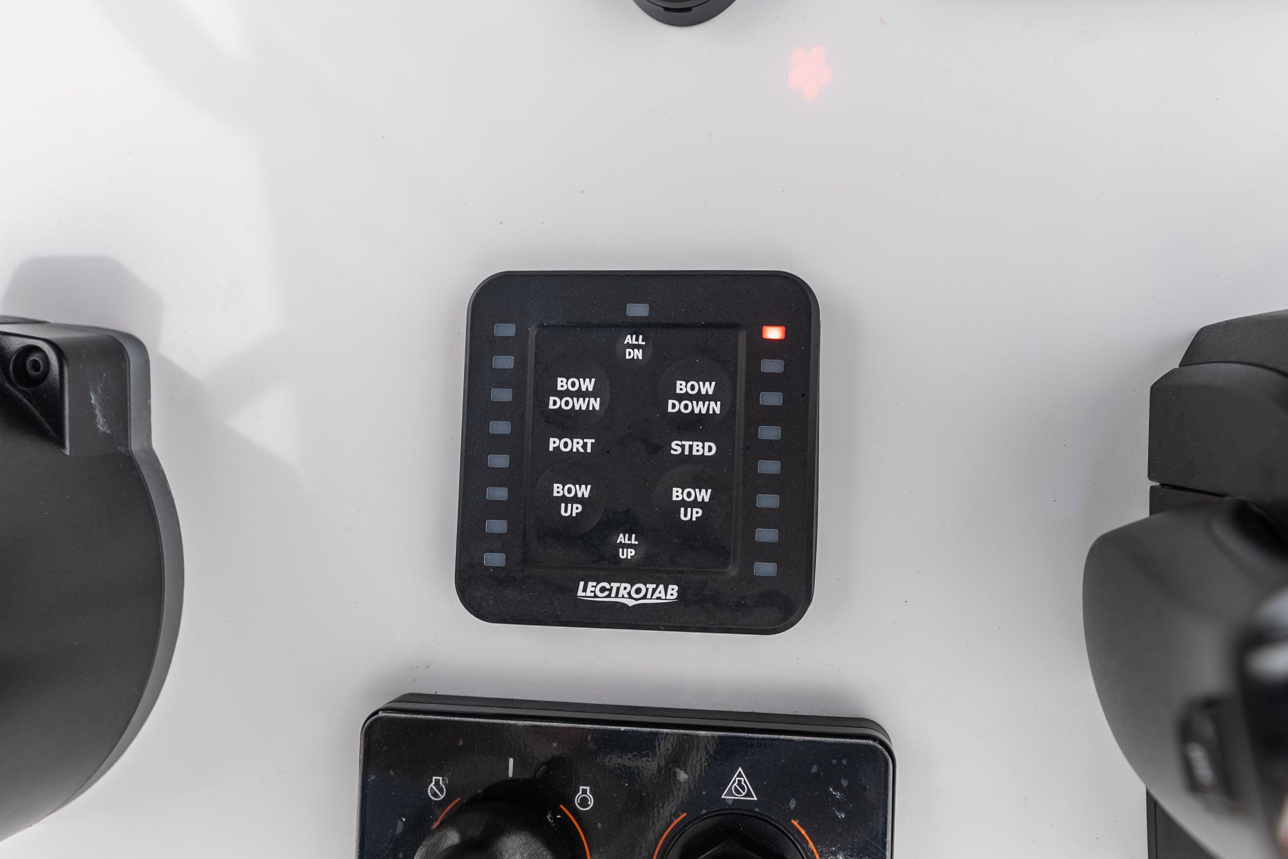 Detail image of Trim Tabs w/ LED Indicator