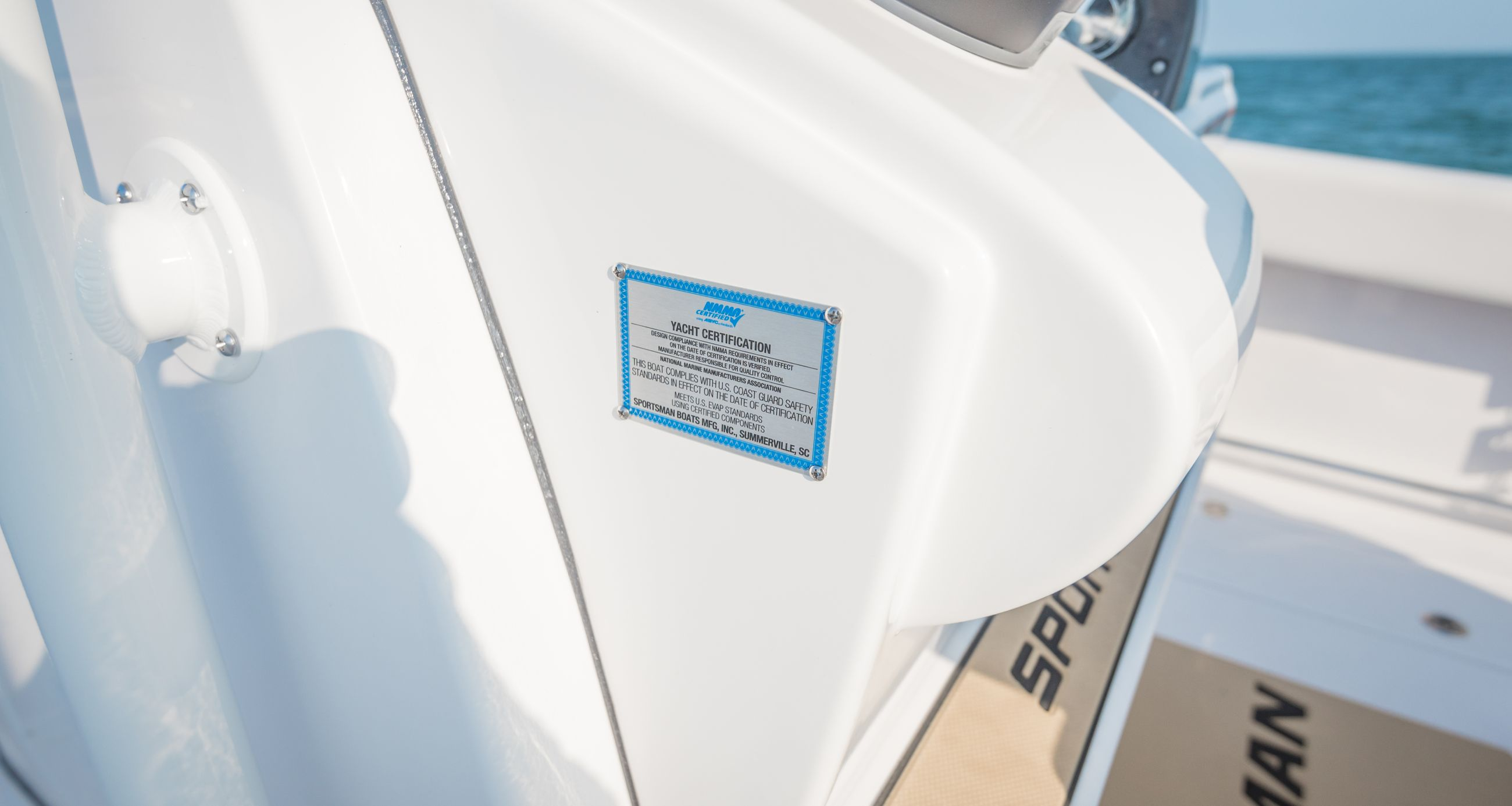 Detail image of Yacht & NMMA Certified